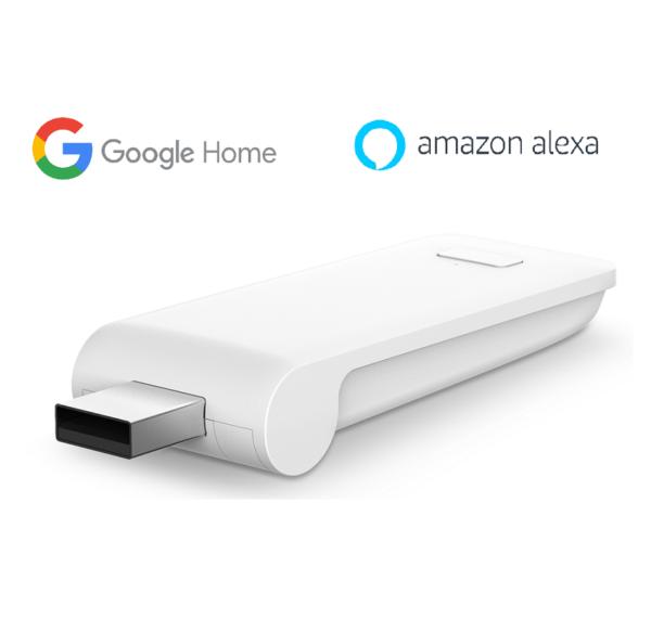 SIRO smart rollo USB gateway control alexa google