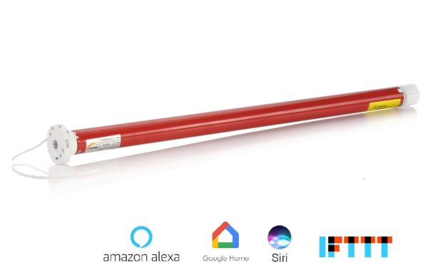 Akku Rollo Motor elektrisch smart steuern app Homekit siri alexa google